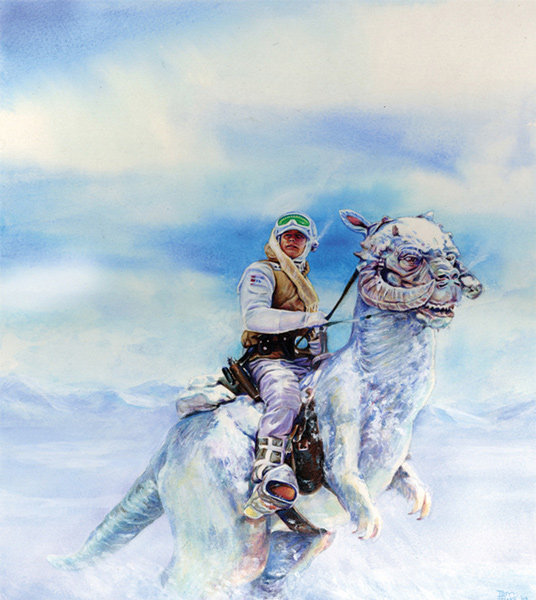 Illustration named: Luke's Typical Hoth Transport